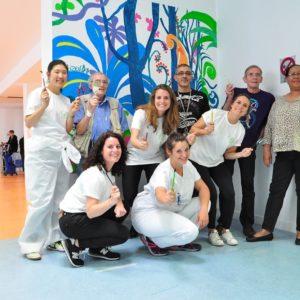 """L'Oréal s'engage lors du """"Citizen Day"""" à l'Hôpital Goüin et au CMP"""