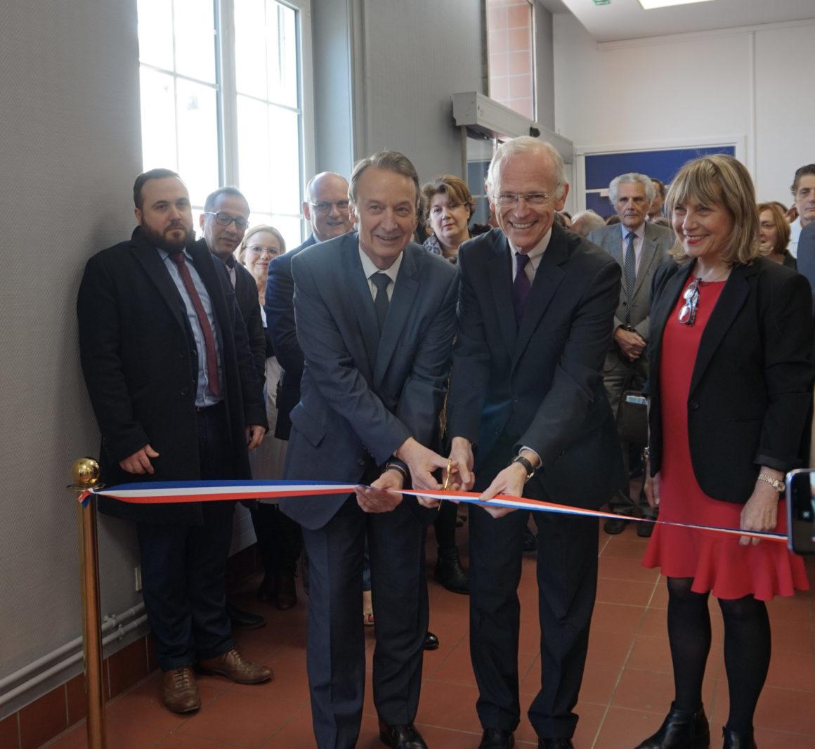 Inauguration du centre de santé Chagall – Gouin à Clichy
