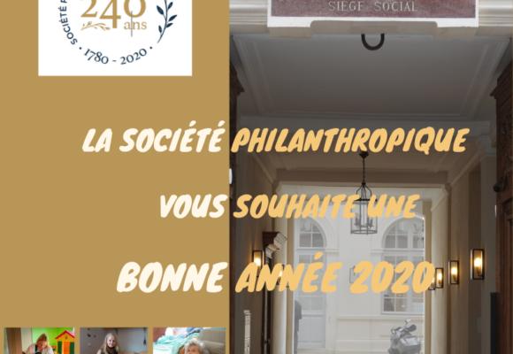 Bonne année philanthropique !