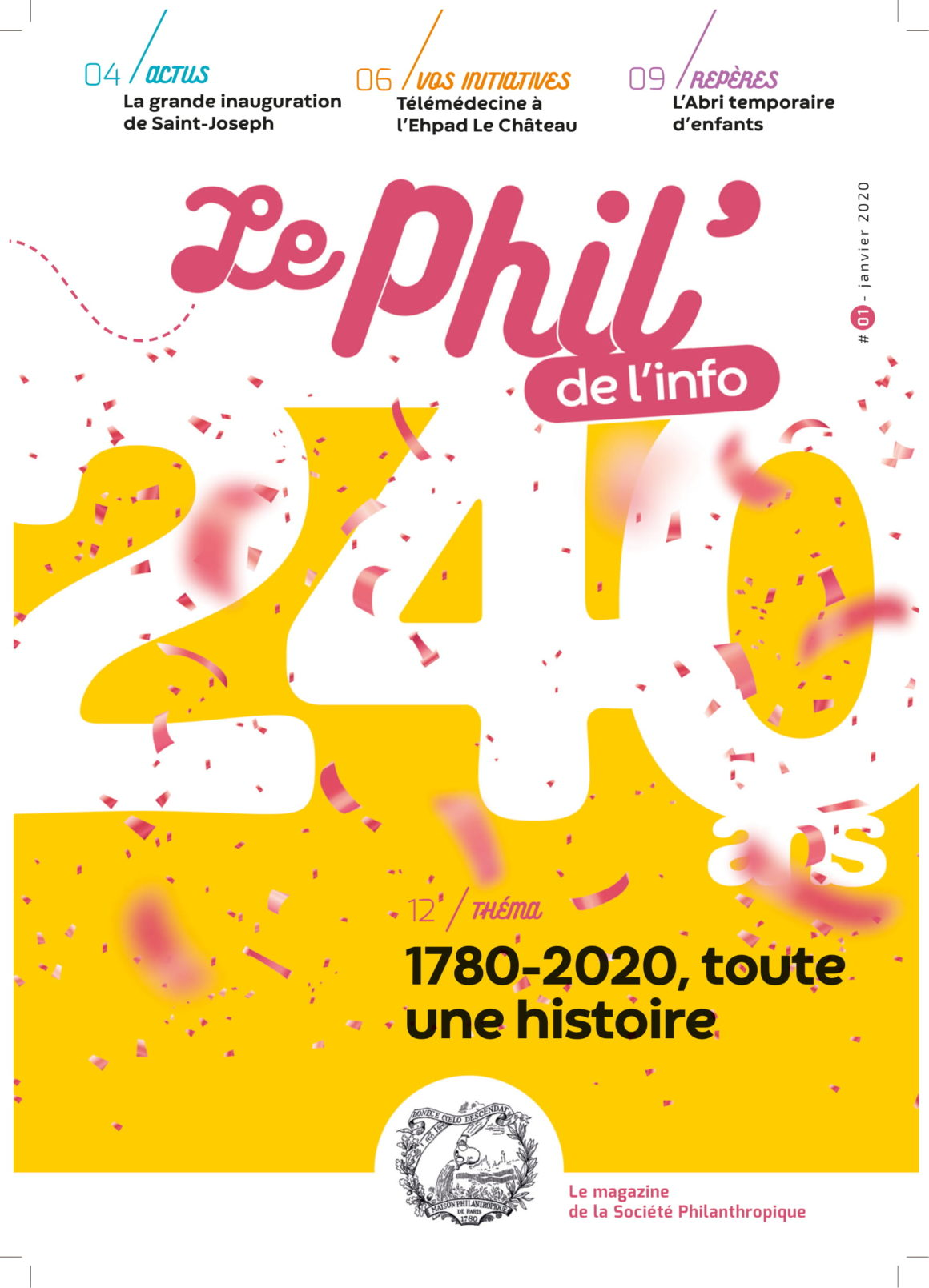 Le Phil' de l'info sort de presses