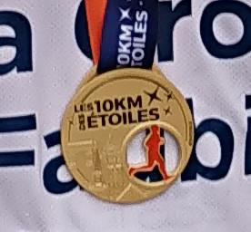 Croix-Faubin, médaille du 10KM des étoiles