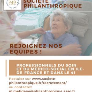 Rejoignez la Société Philanthropique