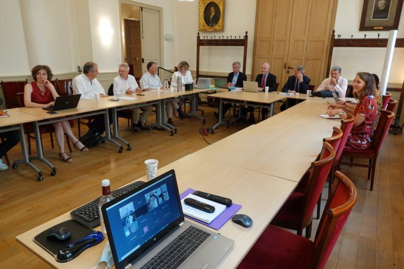 Assemblée générale 2020 de la Société Philanthropique : peu de participants présents physiquement