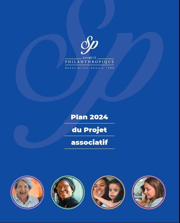 La couverture du Plan 2024 du Projet Associatif