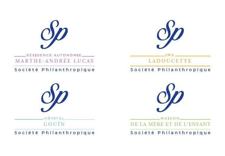 Les modèles de logos d'établissements