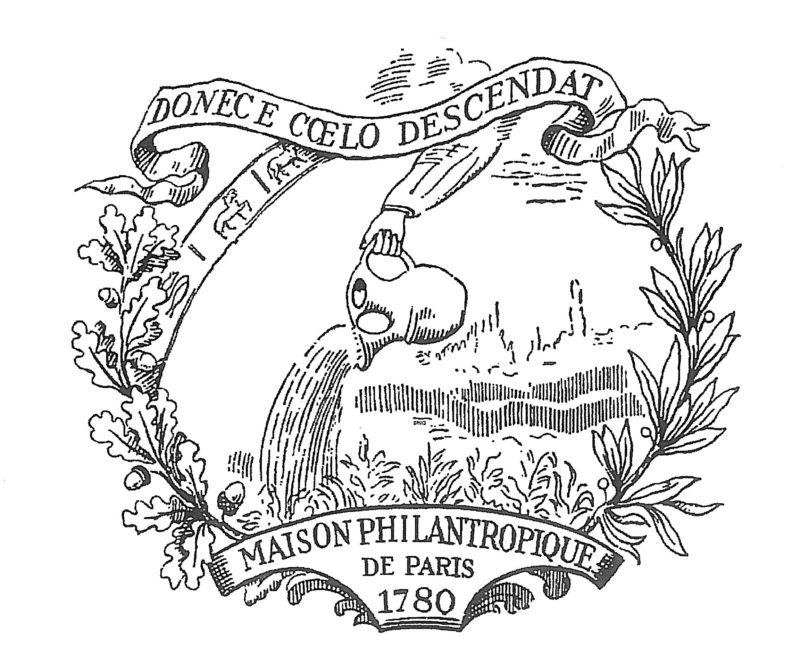 Le logo historique de la Société Philanthropique