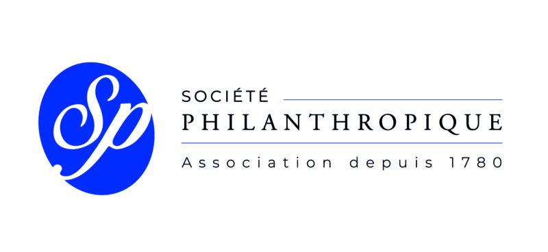 Le logo secondaire de la Société Philanthropique