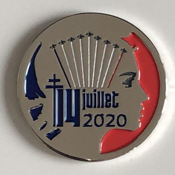 14-juillet-2020-La médaille commémorative