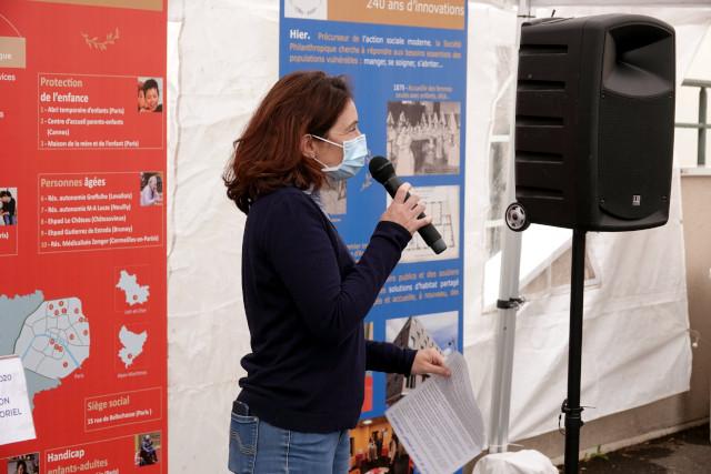 Vanessa Lablanche, psychomotricienne, membre du comité de pilotage du projet