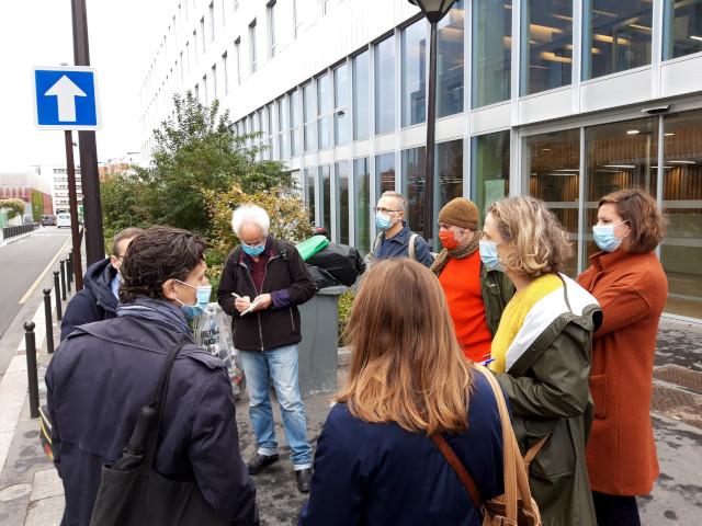 Des journalistes spécialistes en architecture visitent l'EANM Saint-Jopseh