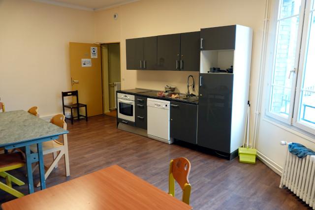 Une cuisine d'étage