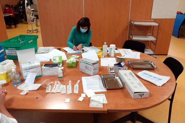 Les préparatifs pour les vaccins