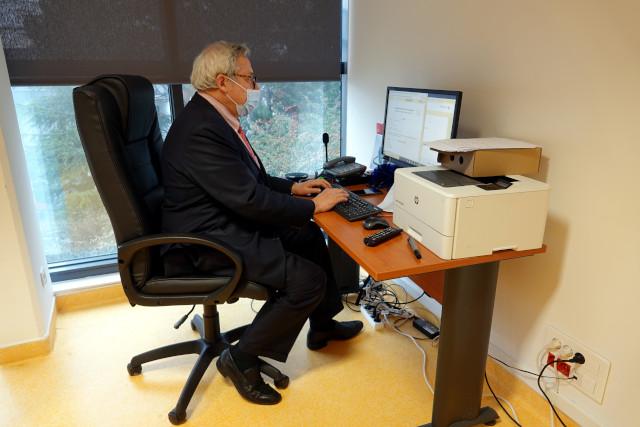 Le Dr François Chary entre les données administratives et médicales