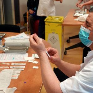 Vaccinations : au tour de la Résidence Zemgor