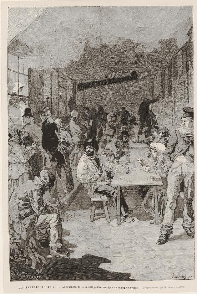 Fourneau économique de la rue de Sèvre en 1882
