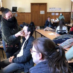 """Les habitants de Maison Harmonia sous les """"sunligths"""""""
