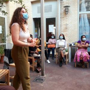 Une rencontre avec SOS Racisme au CHRS Mérice