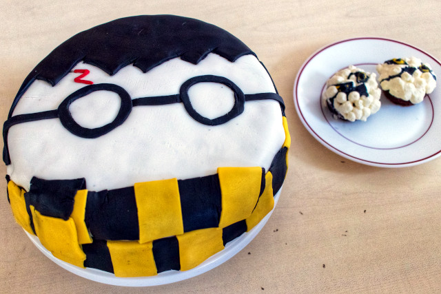 Un gâteau Harry Potter