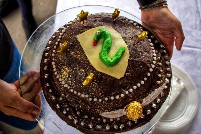 Le gâteau spécial Serpentard