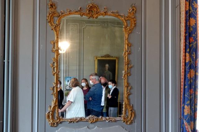 La visite du bâtiment historique de la Résidence
