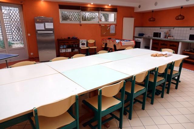 La cuisine collective du Foyer Marjolin