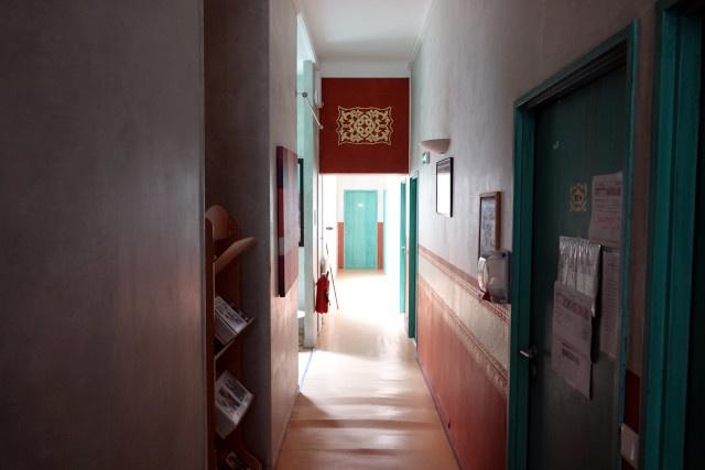Chaque étage est décoré selon son propre code couleur