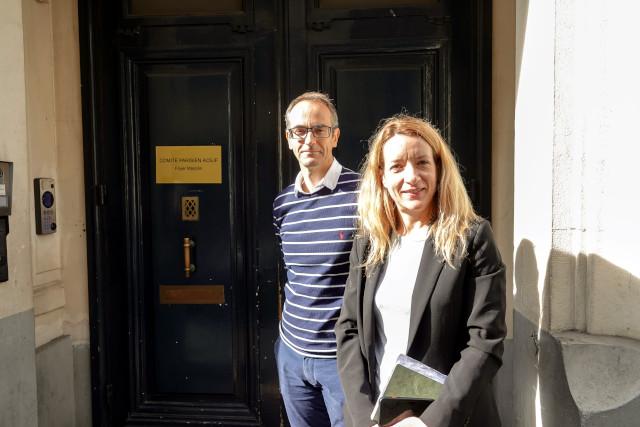 Benjamin Ledoux et Isabelle Perreau, respectivement Directeur et Directrice-adjointe du Comité Parisien